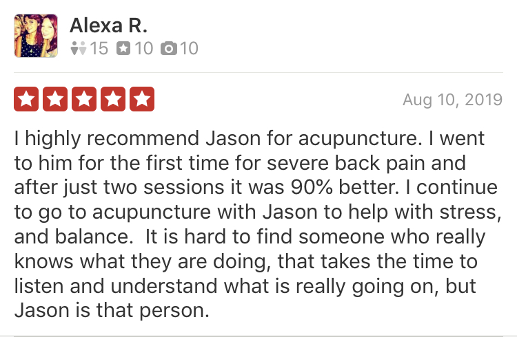 acupuncture review nyc 2